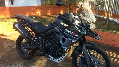 Triumph Tiger Xcx 800 , 2400 Km , 2017