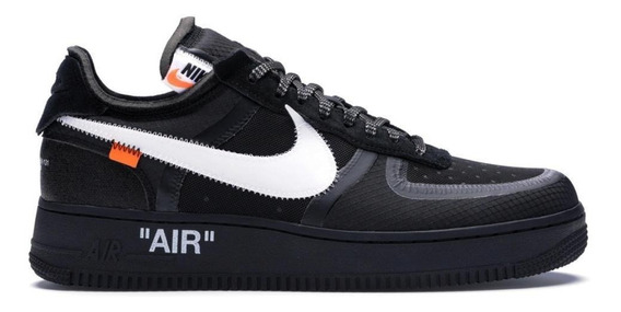 Nike Air Force 1 Off-white Low Volt Lançameto