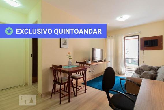 Apartamento No 1º Andar Mobiliado Com 1 Dormitório E 1 Garagem - Id: 892955679 - 255679