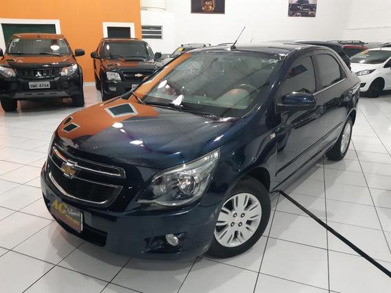 Gm Chevrolet Cobalt 1.8 Ltz 2014/2013 Azul Apenas 52000 Km