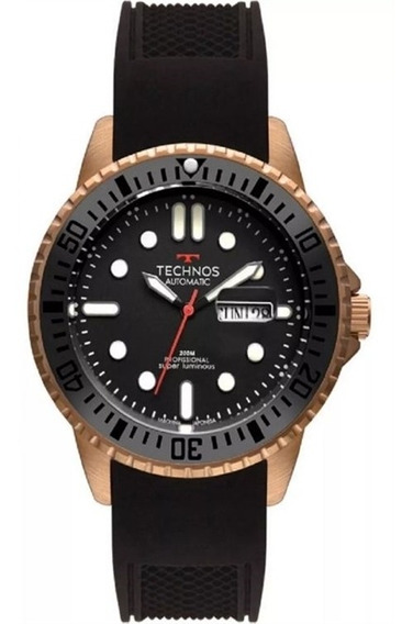 Relógio Technos Analógico Automatico Masculino 8205oh/8p