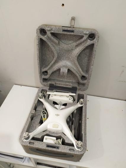Drone Dji Phantom 4 - 4k + 4 Hélices + Cartão 32gb