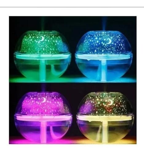 Humificador Estrellas Crystal Nigth Lámpara