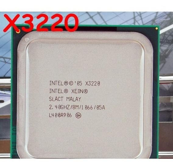 Intel Xeon X3220 2.40ghz 8m Cache 1066 Lga775