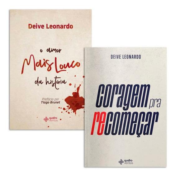 Box Deive Leonardo | Coragem Pra Recomeçar + Amor Mais Louc