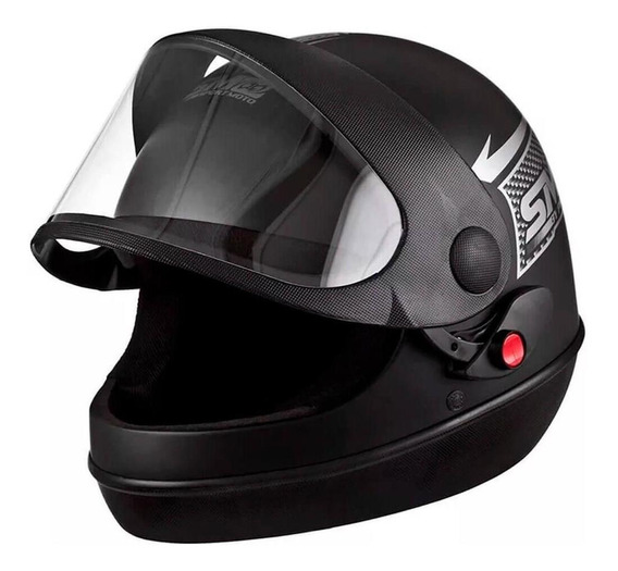 Capacete Moto Pro Tork Sport Moto 58 Preto