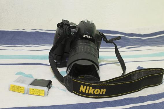 Câmera Nikon D3100 Com Lente Af-s 18-55mm + Gripe E 2 Baterias
