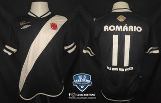 Camisa Vasco Oficial I Umbro 2005 #11 Romário 20 Anos Carrei