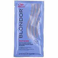 Polvo Decolorante Blondor Wella Sachet De 30g