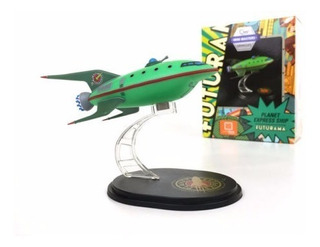 Futurama Planet Express Ship Mini Masters Vehicles Qmx