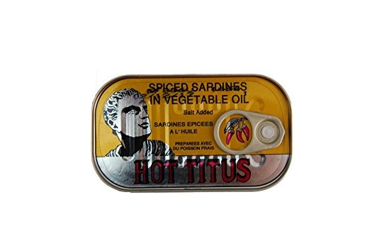 Tito Caliente | Sardinas En Aceite Vegetal Con Especias | Pa