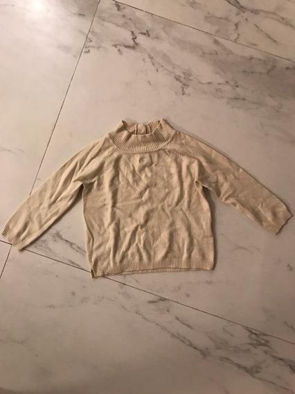 Paula Cahen Danvers Sweater Talle 12 Meses Beige