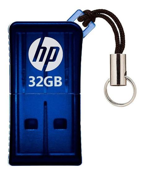 Pen Drive Hp 32gb Mini V165w Usb 2.0 C/ Nota Fiscal