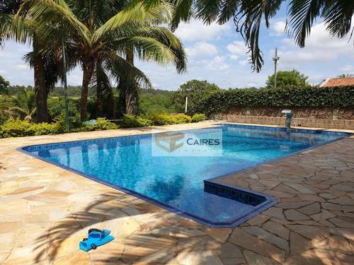 Chácara Com 2 Dormitórios À Venda, 1830 M² Por R$ 848.000,00 - Chácara De Recreio Santa Fé - Campinas/sp - Ch0107