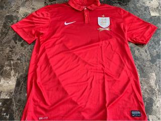 Playera Dryfit Nike De Inglaterra 100 Años