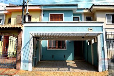 Sobrado Residencial À Venda, 150m², 3 Dormitórios, 1 Suíte, 2 Vagas Na Vila Mariana - So0012