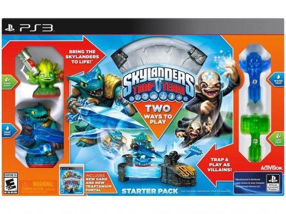 Kit Inicial Skylanders Trap Team - Para Ps3 Playstation 3