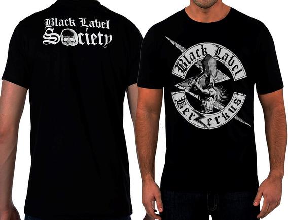 Camisa,camiseta Especial - Black Label Society Berserk