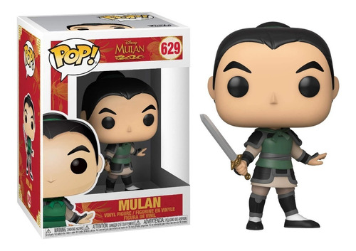 Funko Pop Mulan #629 Disney Regalosleon