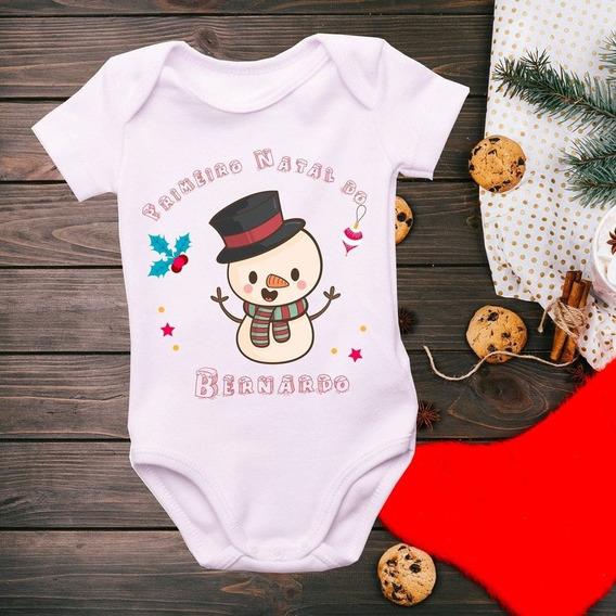 Body Primeiro Natal Do ... 02 - Personalizado