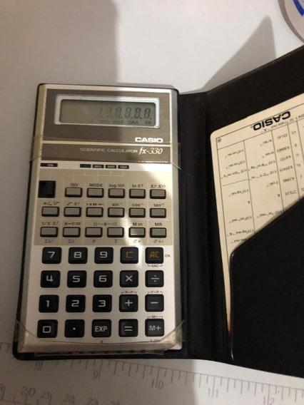 Calculadora Cásio Vintage Fx-330 (defeito)