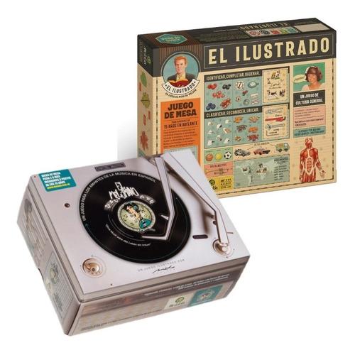 El Melómano + El Ilustrado Juego Mesa Maldón Cultura Música
