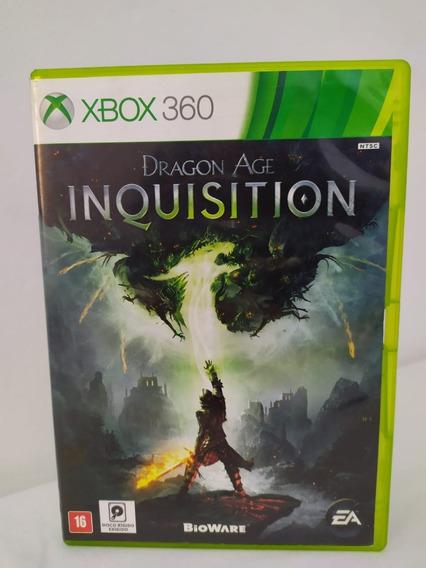 Jogo Dragon Age Inquisition Original Xbox 360 Físico 0043