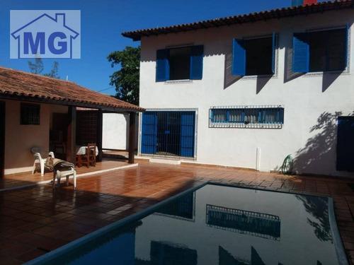 Imagem 1 de 13 de Casa Com 4 Dormitórios À Venda, 265 M² Por R$ 1.500.000,00 - Cavaleiros - Macaé/rj - Ca0243