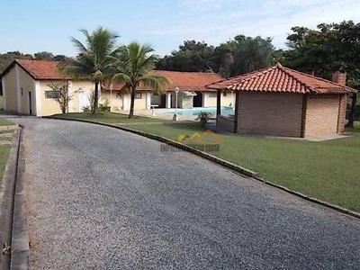 Chácara Residencial À Venda, Condomínio Chácaras Florida, Itu. - Ch0058