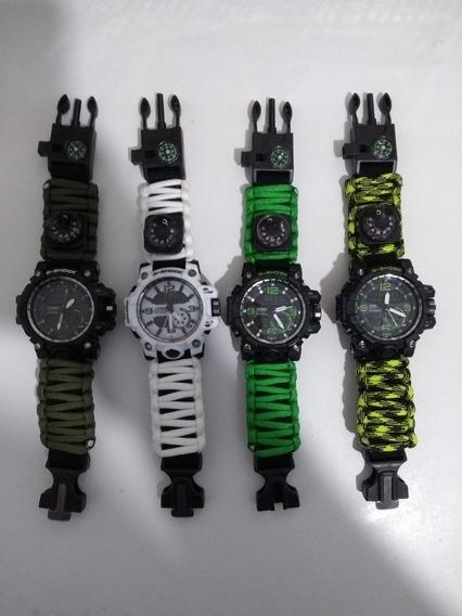 Relógio G-shock Tático Militar Promoção C/ A Caixinha