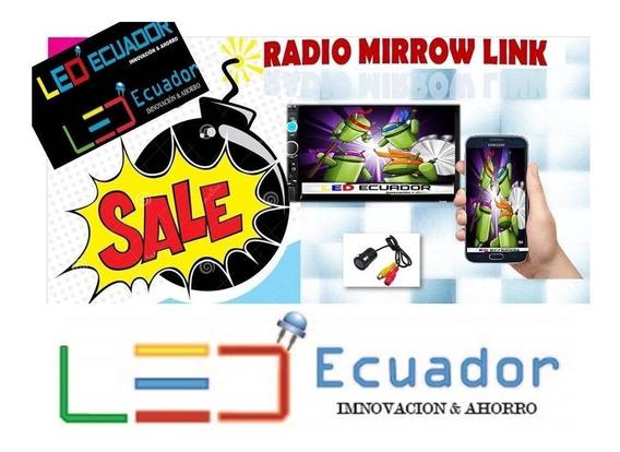 Radio Doble Din + Mirror Link + Mp5