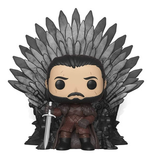 Funko Pop Game Of Thrones 72 Jon Snow En Trono De Hierro