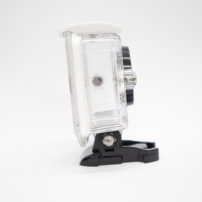 Caixa Estanque Câmera Xiaomi Yi 2k Waterproof Case Branco