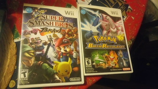 Super Smash Bros Brawl Y Pokemon Battle Revolution Wii