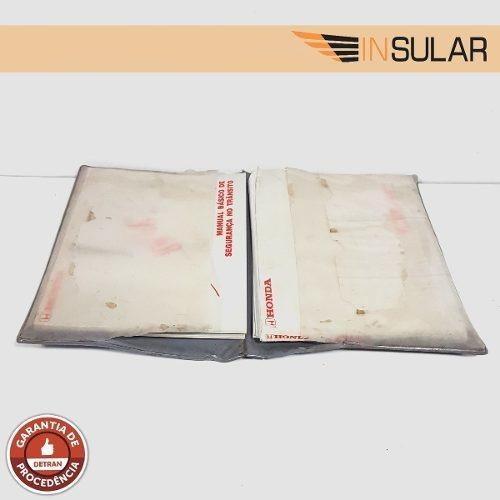 Manual Completo Civic Garantia Manutenção Serviço 2001 A 06
