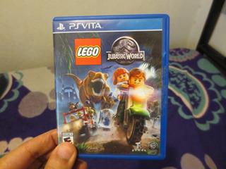 Lote De Juegos De Lego Para Ps Vita Jurassic World Y Marvel