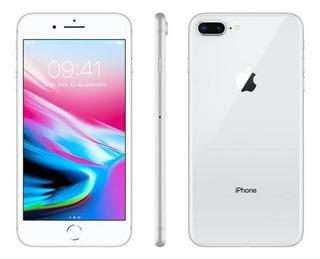 iPhone 8 Plus 64gb Silver Tela 5.5 Ios 12 4g Câmera 12 Mp