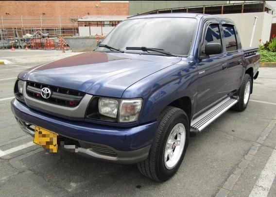 Toyota Hilux Azul 2006 Motor 24 Cinco 5 Puertas