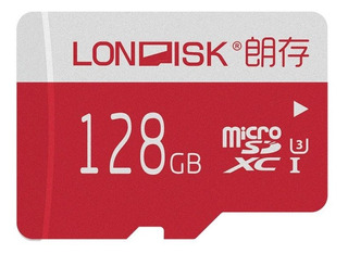 Londisk 128gb Micro Sd Card 4k U3 Sdxc Memory Card For Video