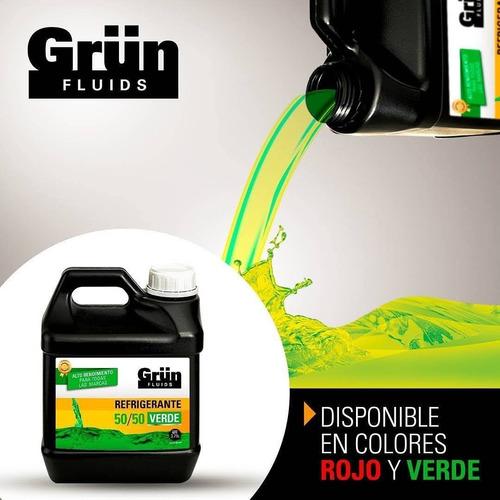 Refrigerante Grün 50/50 Verde Y Rojo Galón