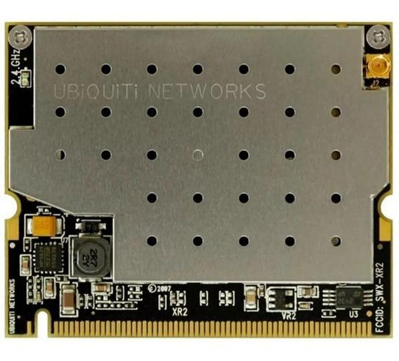Placa Wifi Ubiquiti Xr2 2.4 Ghz 600mw Minipci Mmcx Nanotec