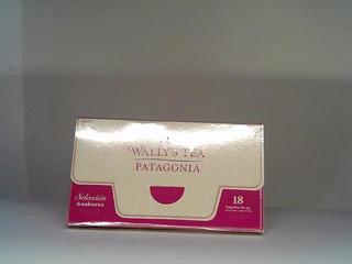 Carterita 6 Sabores Surtidos 18 Saq Wally´s Tea Patagonia
