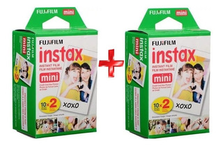 Fujifilm Cartucho Instax Mini Iso800 Twin Pack (20 Hojas) X2