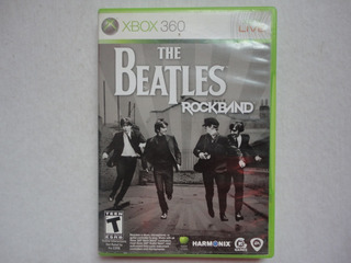 Rockband The Beatles Original Xbox 360 Completo!!
