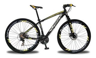 Bicicleta Rino Everest Aro 29 Freio Disco 24v Câmbios Shimano