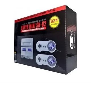 Consola Super Mini 8 Bit Retro Family 821 Juegos Hdmi