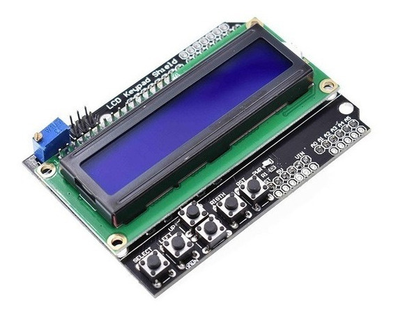 Shield Display Lcd 1602 16x2 + Botones Arduino