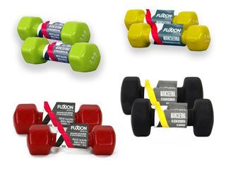 Set De Mancuernas 1, 2, 3 Y 4 Kg Fuxion Sports