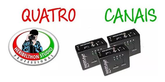 3 Receptores Para Rádio Flash Digi 4 (proflash)
