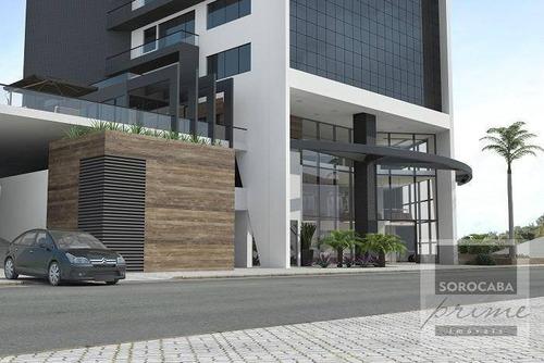 Andar Corporativo À Venda, 410 M² Por R$ 2.615.000,00 - Edifício Millenia Exclusive Offices - Sorocaba/sp - Ac0009